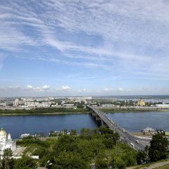 АЗИМУТ Отель Нижний Новгород пляж