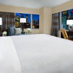 Отель Crowne Plaza Times Square Manhattan, an IHG Hotel США, Нью-Йорк - отзывы, цены и фото номеров - забронировать отель Crowne Plaza Times Square Manhattan, an IHG Hotel онлайн комната для гостей фото 3