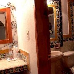 Отель Plaza Mexicana Margaritas Мексика, Креэль - отзывы, цены и фото номеров - забронировать отель Plaza Mexicana Margaritas онлайн ванная фото 2