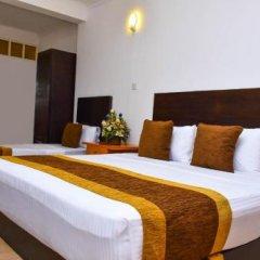 Отель Aradhana Airport Hotel Шри-Ланка, Негомбо - отзывы, цены и фото номеров - забронировать отель Aradhana Airport Hotel онлайн комната для гостей фото 5