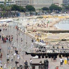 Отель Novotel Suites Cannes Centre пляж фото 2