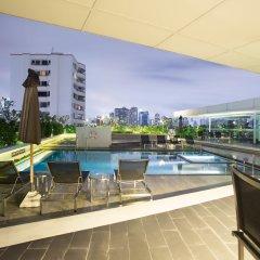 Отель Oakwood Residence Sukhumvit Thonglor Бангкок бассейн