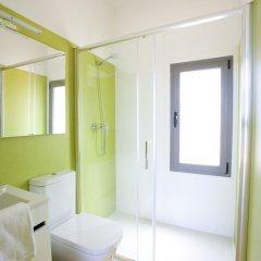 Отель Camping Bayona Playa Испания, Байона - отзывы, цены и фото номеров - забронировать отель Camping Bayona Playa онлайн ванная фото 2