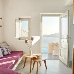 Отель La Perla Villas - Adults Only Греция, Остров Санторини - отзывы, цены и фото номеров - забронировать отель La Perla Villas - Adults Only онлайн комната для гостей фото 5