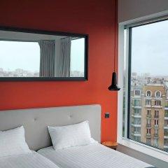 Отель Hipark by Adagio Paris La Villette Франция, Париж - отзывы, цены и фото номеров - забронировать отель Hipark by Adagio Paris La Villette онлайн комната для гостей фото 2