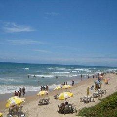 Отель Coqueiros Residence пляж