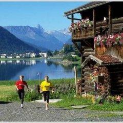 Отель Bünda Davos Швейцария, Давос - отзывы, цены и фото номеров - забронировать отель Bünda Davos онлайн приотельная территория