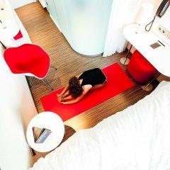 Отель citizenM Schiphol Airport Нидерланды, Схипхол - 4 отзыва об отеле, цены и фото номеров - забронировать отель citizenM Schiphol Airport онлайн фитнесс-зал