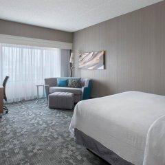Отель Courtyard by Marriott Newark Elizabeth США, Элизабет - отзывы, цены и фото номеров - забронировать отель Courtyard by Marriott Newark Elizabeth онлайн комната для гостей фото 5