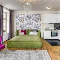 Отель 4 Arts Suites Чехия, Прага - отзывы, цены и фото номеров - забронировать отель 4 Arts Suites онлайн комната для гостей фото 2