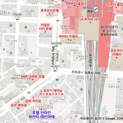 Отель Sunline Hakata Ekimae Хаката городской автобус