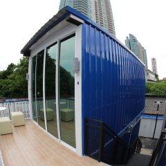 The Hab Hostel Бангкок балкон