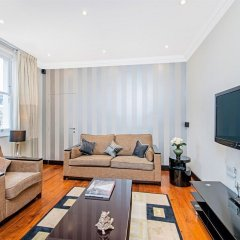 Отель 130 Queen's Gate Apartments Великобритания, Лондон - отзывы, цены и фото номеров - забронировать отель 130 Queen's Gate Apartments онлайн комната для гостей фото 4
