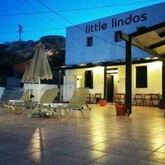 Отель Little Lindos Sea View Studios