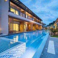 Отель Chermantra Aonang Resort and Pool Suite бассейн