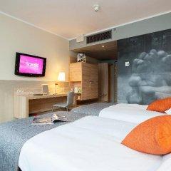 Отель Scandic Wroclaw 4* Стандартный номер с различными типами кроватей фото 2