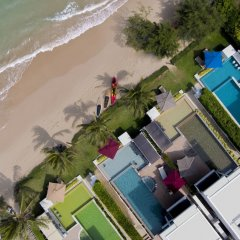 Отель X2 Hua Hin LeBayburi Pranburi Villa пляж фото 2