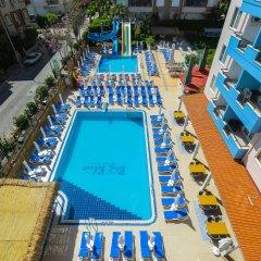 Отель Big Blue Suite Аланья бассейн