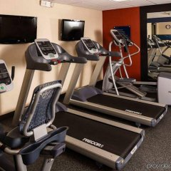 Отель Hampton Inn & Suites Houston-Medical Ctr-Reliant Park Хьюстон фитнесс-зал фото 2