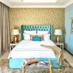 Отель Dream Inn Dubai-Luxury Palm Beach Villa комната для гостей фото 2