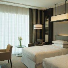 Отель Sheraton Grand Hotel, Dubai ОАЭ, Дубай - 1 отзыв об отеле, цены и фото номеров - забронировать отель Sheraton Grand Hotel, Dubai онлайн комната для гостей фото 3