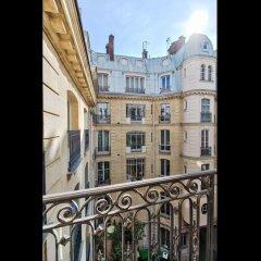 Отель Luminous Apt near Galerie Lafayette Париж балкон