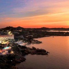 Отель Grand Hotel Smeraldo Beach Италия, Байя-Сардиния - 1 отзыв об отеле, цены и фото номеров - забронировать отель Grand Hotel Smeraldo Beach онлайн приотельная территория