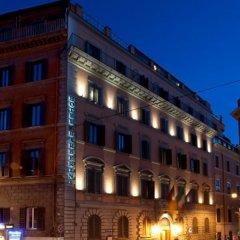 Отель BARBERINI Рим вид на фасад фото 2