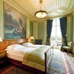 Grand Hotel Les Trois Rois комната для гостей фото 3