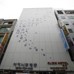 Отель Click Hotel Южная Корея, Сеул - отзывы, цены и фото номеров - забронировать отель Click Hotel онлайн вид на фасад фото 3