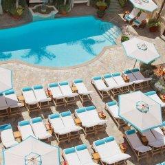 Отель Beverly Wilshire, A Four Seasons Hotel США, Беверли Хиллс - отзывы, цены и фото номеров - забронировать отель Beverly Wilshire, A Four Seasons Hotel онлайн бассейн фото 2