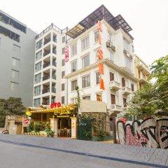 OYO 779 Aisha Hotel And Apartment Ханой вид на фасад