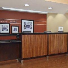 Отель Hampton Inn Columbus-International Airport США, Колумбус - отзывы, цены и фото номеров - забронировать отель Hampton Inn Columbus-International Airport онлайн интерьер отеля фото 3