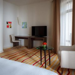 Гостиница Courtyard Marriott Sochi Krasnaya Polyana 4* Стандартный номер с разными типами кроватей фото 4