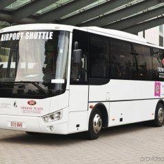Отель Crowne Plaza Brussels Airport городской автобус