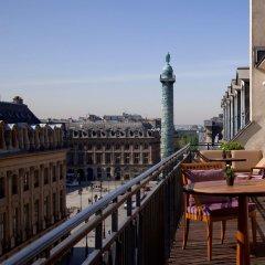 Отель Park Hyatt Paris Vendome балкон