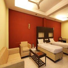 Отель Hanuwant Palace Индия, Нью-Дели - 1 отзыв об отеле, цены и фото номеров - забронировать отель Hanuwant Palace онлайн комната для гостей
