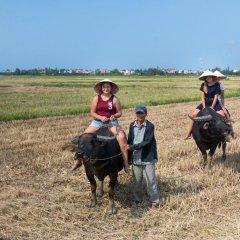 Отель Quynh Chau Homestay Вьетнам, Хойан - отзывы, цены и фото номеров - забронировать отель Quynh Chau Homestay онлайн спортивное сооружение
