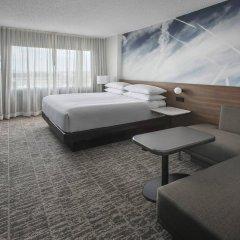 Отель Newark Liberty International Airport Marriott США, Ньюарк - отзывы, цены и фото номеров - забронировать отель Newark Liberty International Airport Marriott онлайн комната для гостей фото 3