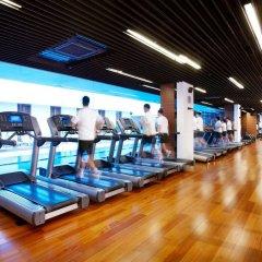 Отель Oakwood Premier Coex Center Южная Корея, Сеул - отзывы, цены и фото номеров - забронировать отель Oakwood Premier Coex Center онлайн фитнесс-зал