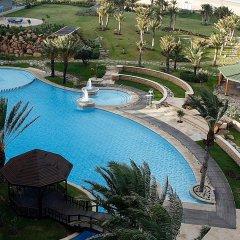 Отель Movenpick Hotel & Casino Malabata Tanger Марокко, Танжер - отзывы, цены и фото номеров - забронировать отель Movenpick Hotel & Casino Malabata Tanger онлайн бассейн фото 2