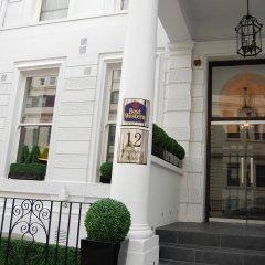 Отель Best Western Mornington Hotel London Hyde Park Великобритания, Лондон - 1 отзыв об отеле, цены и фото номеров - забронировать отель Best Western Mornington Hotel London Hyde Park онлайн вид на фасад