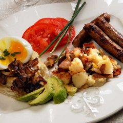 Отель Fisher House Victoria Bed and Breakfast Канада, Виктория - отзывы, цены и фото номеров - забронировать отель Fisher House Victoria Bed and Breakfast онлайн питание фото 3