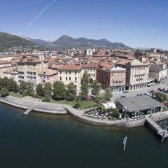 Отель San Gottardo Италия, Вербания - отзывы, цены и фото номеров - забронировать отель San Gottardo онлайн пляж