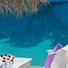Отель Acqua Vatos Santorini Hotel Греция, Остров Санторини - отзывы, цены и фото номеров - забронировать отель Acqua Vatos Santorini Hotel онлайн бассейн