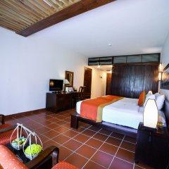 Отель Palm Garden Beach Resort And Spa Хойан комната для гостей фото 4