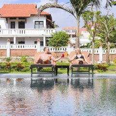 Отель Hoian Sincerity Hotel & Spa Вьетнам, Хойан - отзывы, цены и фото номеров - забронировать отель Hoian Sincerity Hotel & Spa онлайн приотельная территория фото 2
