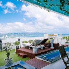 Апартаменты Nha Trang Star Beach Apartments пляж фото 2