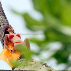 Отель Sofitel Moorea la Ora Beach Resort Французская Полинезия, Папеэте - 1 отзыв об отеле, цены и фото номеров - забронировать отель Sofitel Moorea la Ora Beach Resort онлайн балкон
