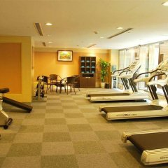Shanghai Forte Hotel фитнесс-зал